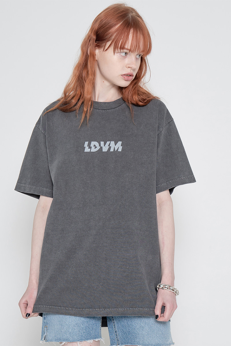 Pigment LDVM short sleeve T-shirt_charcoal